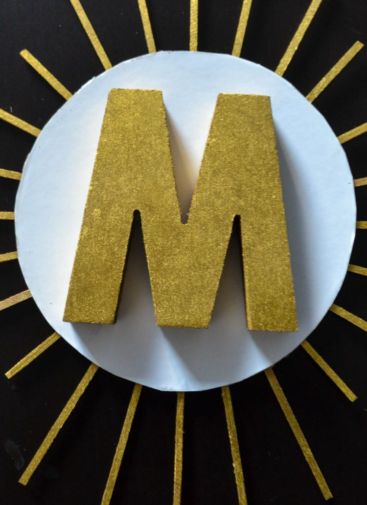 How To Make A Monogrammed Door Decoration