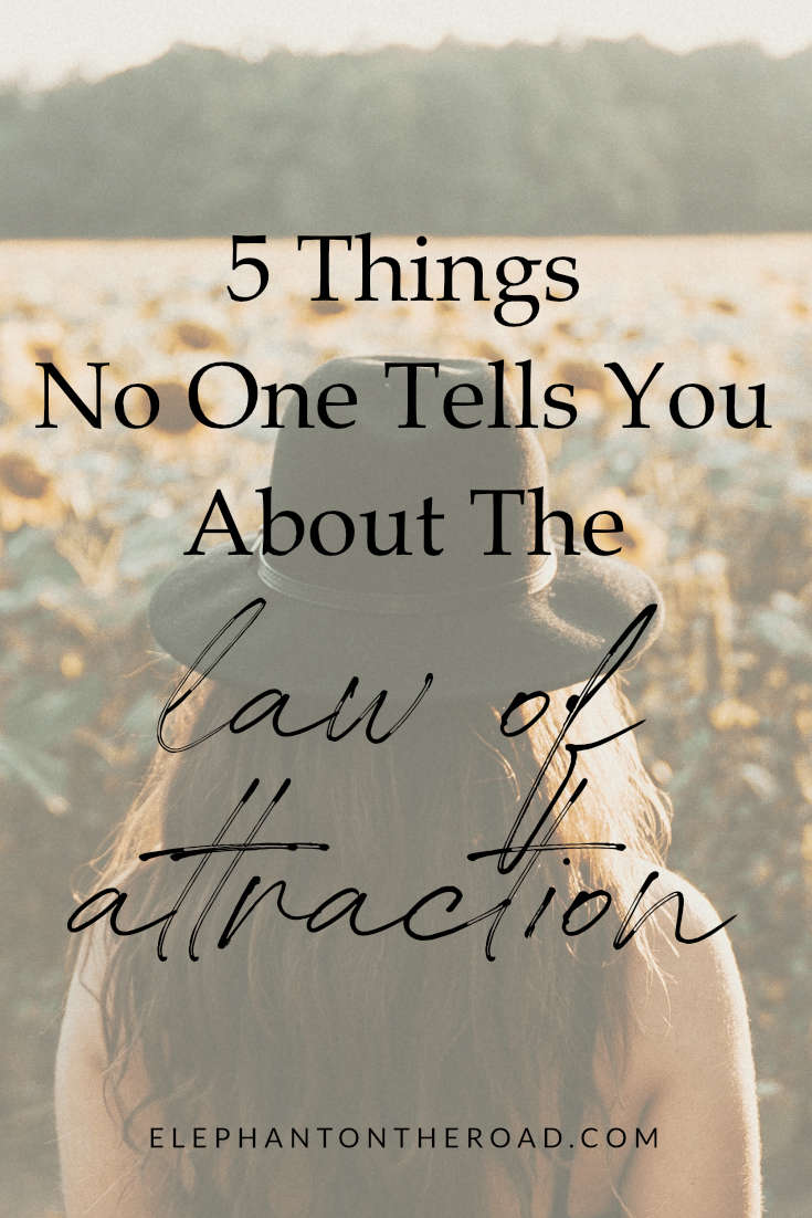 5 Things No One Tells You About The Law Of Attraction. Manifesting Tips. The Secret Law of Attraction. Things To Know Before Manifesting. Things To Know Before Starting the Law of Attraction. Law of Attraction Tips. Law of Attraction Action Plan. Law of Attraction for Beginners. Elephant on the Road.