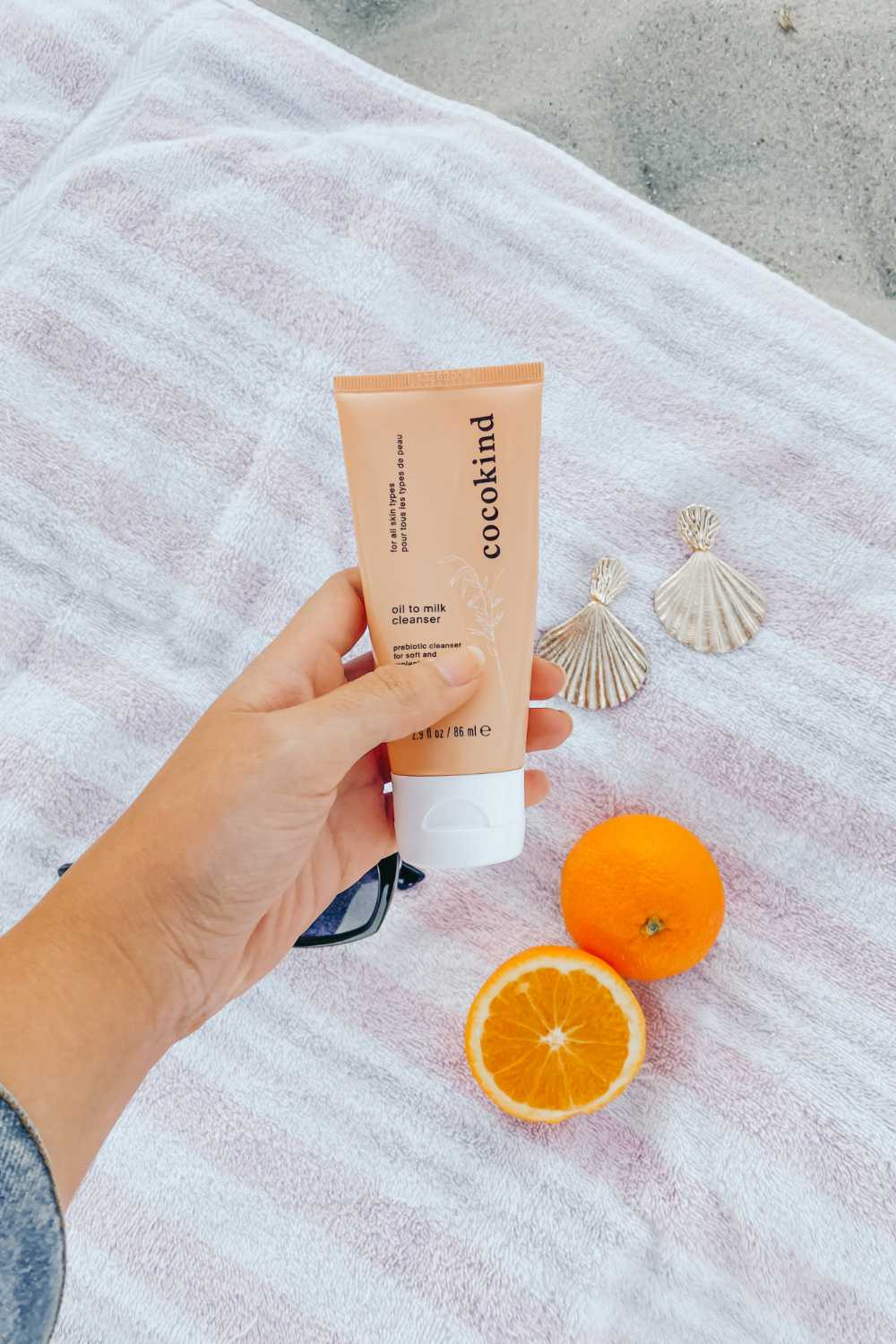 Cocokind Review. Cocokind Products. Cocokind Sunscreen. Trying Cocokind For The First Time. Cruelty Free Brand. Sustainable Skincare Brand. Elephant on the Road.